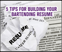 Create Bartending Resume Tips