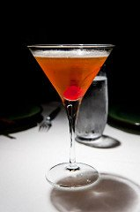 manhattan made in a bartending course