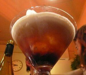 curacao punch cocktail rum soda cognac