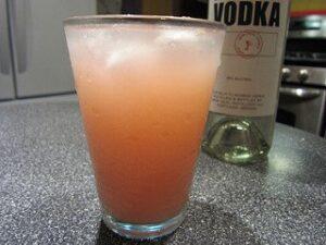 vodka grapefruit greyhound cocktail