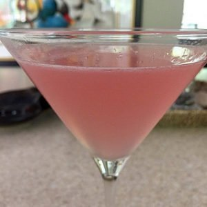 orange blossom pink cocktail