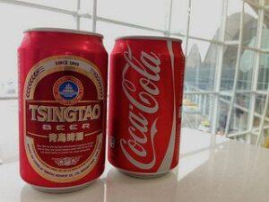 beer cocktail coke tsingtao
