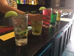 drinks on bar no online bartending course