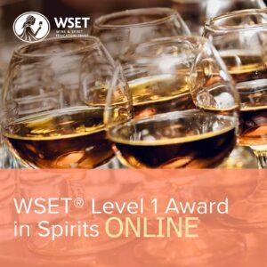 WSET L1 Spirits Online